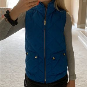 Blue J Crew vest
